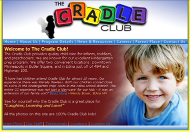 Ben Ragus on the Cradle Club Home Page
