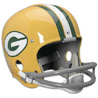 Vintage Packers helmet