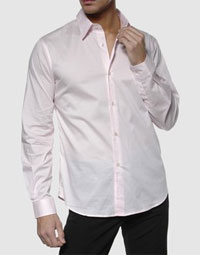 Pink Costume National Homme Dress Shirt